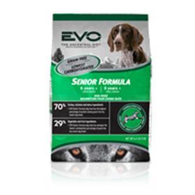 EVO Turkey and Chicken Meal Senior Dry Dog Food