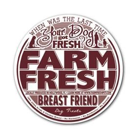 Farm Fresh Canine Treats Breast Friend Chicken
