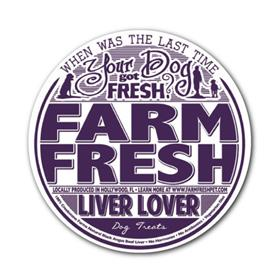 Farm Fresh Canine Treats Liver Lover Beef