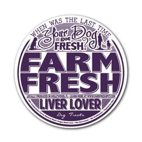 Farm Fresh Canine Treats Liver Lover Beef