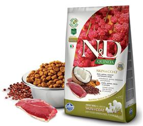 Farmina Grain Free LID Quinoa Skin and Coat Duck Dry Dog Food