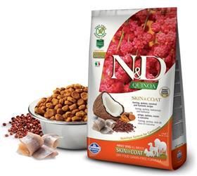 Farmina Grain Free LID Quinoa Skin and Coat Herring Dry Dog Food
