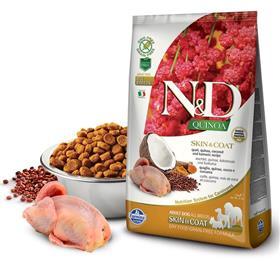 Farmina Grain Free LID Quinoa Skin and Coat Quail Dry Dog Food