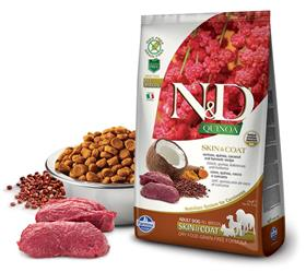 Farmina Grain Free LID Quinoa Skin and Coat Venison Dry Dog Food