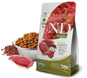 Farmina Grain Free LID Quinoa Urinary Duck Dry Cat Food