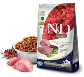 Farmina Grain Free LID Quinoa Weight Management Lamb Dry Dog Food