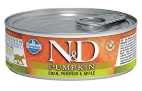 Farmina ND Boar Pumpkin Apple Feline Wet Food Cans