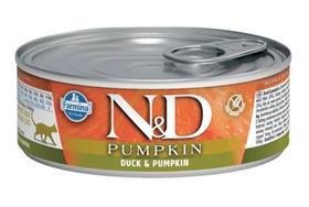 Farmina ND Duck Pumpkin Feline Wet Food Cans