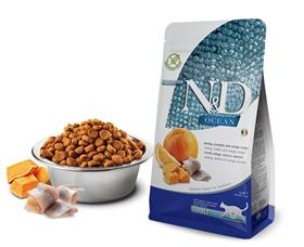 Farmina ND Grain Free Ocean Herring Orange Dry Cat Food