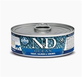 Farmina Trout Salmon Shrimp Adult Feline Wet Food Cans