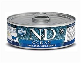Farmina Tuna Cod Shrimp Adult Feline Wet Food Cans