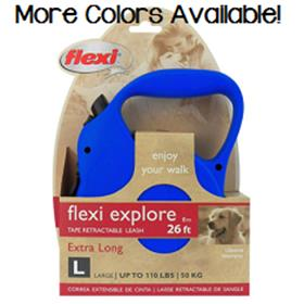 Flexi Explore Tape Retractable Leash