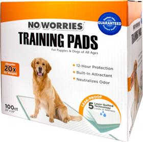 Four Paws No Worries Training Pads
