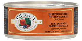 Fromm 4 Star Turkey Shredded Canned Cat Food