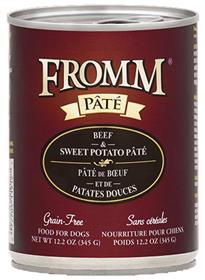 Fromm Beef and Sweet Potato Pate Dog Food Can