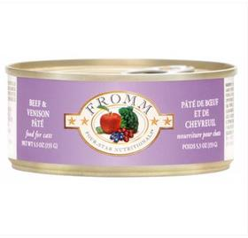 Fromm Beef and Venison Pate Cat Four Star Can