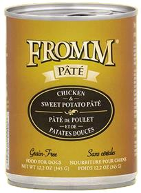 Fromm Chicken and Sweet Potato Pate Dog Food Can