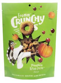 Fromm Crunchy Os Pumpkin Kran POW Dog Treats