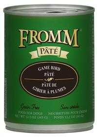 Fromm Dog Can Grain Free Pate Game Bird