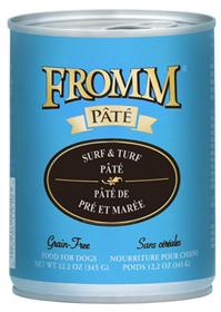 Fromm Dog Can Grain Free Pate Surf and Turf