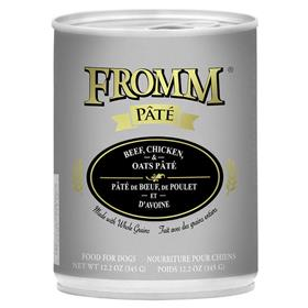 Fromm Dog Can Pate Beef Chicken Oats