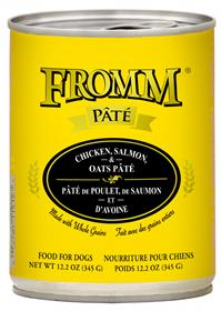 Fromm Dog Can Pate Chicken Salmon Oats