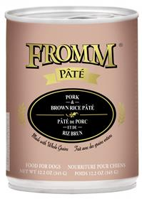 Fromm Dog Can Pate Pork Brown Rice