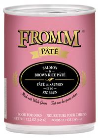 Fromm Dog Can Pate Salmon Rice