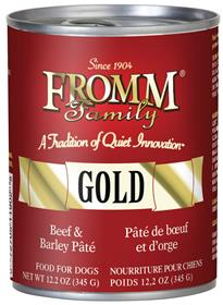 Fromm Family Gold Beef and Barley Pate