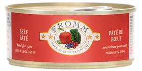 Fromm Four Star Beef Pate for Cats