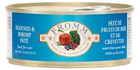 Fromm Four Star Seafood and Shrimp Pate Cat Can