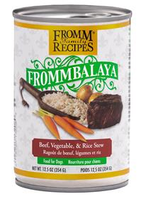Fromm Frommbalaya Beef Vegetable Rice Stew for Dogs