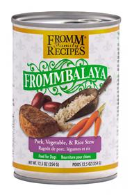 Fromm Frommbalaya Pork Vegetable Rice Stew for Dogs