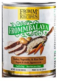 Fromm Frommbalaya Turkey Vegetable Rice Stew for Dogs