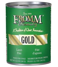 Fromm Gold Lamb Pate Canned Dog Food