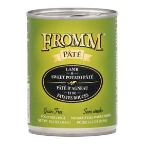 Fromm Lamb and Sweet Potato Pate Dog Food Can
