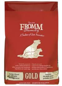 Fromm Large Breed Weight Management Gold Dry Food