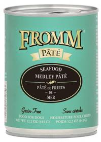 Fromm Seafood Medley Pate Dog Food Can