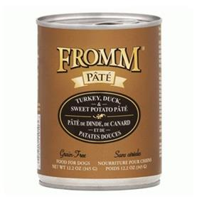 Fromm Turkey Duck Sweet Potato Pate Dog Food Can
