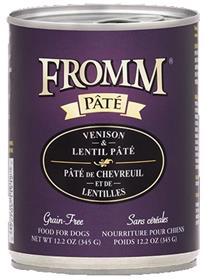 Fromm Venison and Lentil Pate Dog Food Can