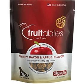 Fruitables Crispy Bacon and Apple Dog Treats