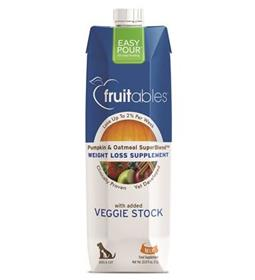Fruitables Easy Pour Pumpkin Weight Loss Dog and Cat Supplement