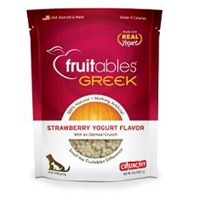 Fruitables Greek Yogurt Strawberry Dog Treats