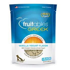 Fruitables Greek Yogurt Vanilla Dog Treats