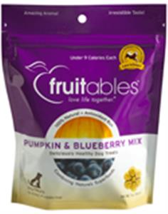 Fruitables Pumpkin and Blueberry Mix Dog Treats