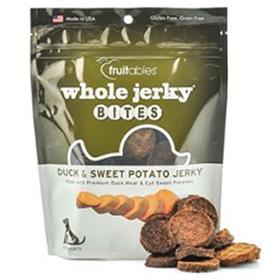 Fruitables Whole Jerky Bites Duck and Sweet Potato