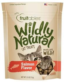 Fruitables Wildly Natural Cat Treats Salmon Flavor