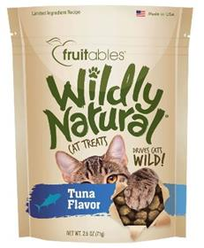 Fruitables Wildly Natural Cat Treats Tuna Flavor