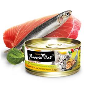 Fussie Cat Premium Tuna with Anchovies