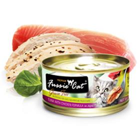 Fussie Cat Premium Tuna with Chicken